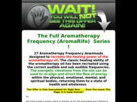 Aromatherapy Frequencies One Time Offer