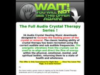 Audio Crystal Therapy One Time Offer
