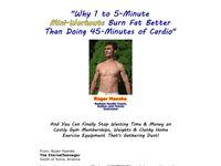 Bodyweight Exercises- Lightning Speed Fitness Program