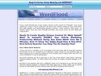 WordFlood 2.0 - Unique Content Generator