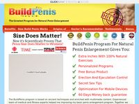 BuildPenis - 100% Natural Penis Enlargement Solution