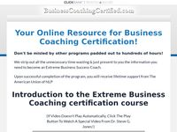 Business Coaching Certified