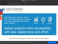 Civil Engineering Templates - Project Management Document Templates
