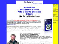 Craft Business Success, How to be Successful In Your Craft Business - Craft Business - Home Craft Business