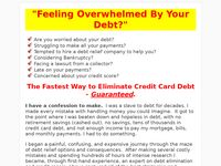 The Fastest Way to Eliminate Credit Card Debt - The Complete Debt Relief Manual