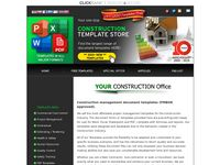 Construction Document Templates Store