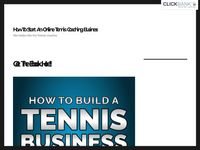 How To Start An Online Tennis Coaching Business – The Online Site For Tennis Coaches