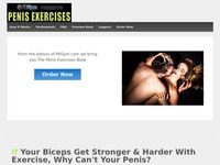 Penis Exercises – A Healthy Book for Enlargement, Enhancement, Hardness, & Health