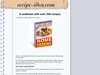 Cookbook for sale with over 350 recipes