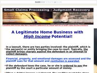Judgement Recovery Business Course - Small Claims Processing Course