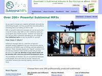 Subliminal Messages - Over 200 Subliminal MP3s