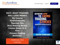 #1 Swing Trading Course -  Swing Trading – FREE DOWNLOAD – Swing Trading Course reveals how to find the most profitable stock trades. Learn proven and time tested trading methods.