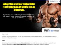 """Breakthrough """"Metabolic Hormone"""" Trick For Men Replaces 5,000 Hours In The Gym By Helping You Burn 450% More Body Fat In Less Than 45 Minutes Per Week..."""