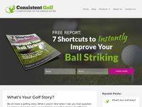 ConsistentGolf.com – Low Scores for Once-A-Week Golfers