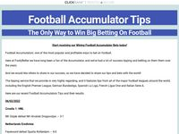 Football Accumulators -