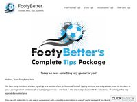 Complete Tips Package - FootyBetter