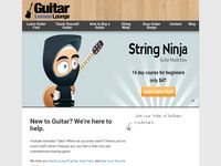 Easy Step by Step Guitar Lessons for Beginners - Guitar Lesson Lounge