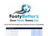 Over 2.5 Goals Football Betting Tips – Over 2.5 Goals Football Betting Tips