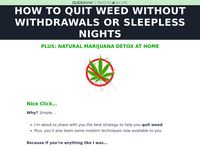 Quit Weed - Quit Weed With Tristan Weatherburn