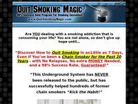 Quit Smoking Magic Official - Quit Smoking in Less than 7 Days