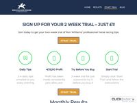 Take The £1 Trial - Ron Williams Racing