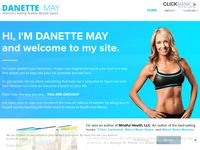 I'M DANETTE MAY and welcome to my site.