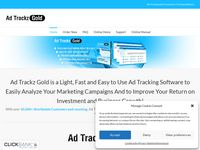 Ad Trackz Gold – Ad Tracking and Conversion Tracking Software – Ad Tracking and Conversion Tracking Software