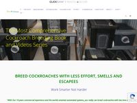 The Complete Cockroach Breeding Manual-Clickbank – Breeding Insects Made Easy
