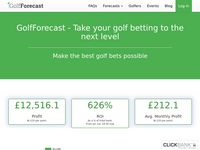 🥇Golf Betting Tips - Make Better bets - GolfForecast🥇