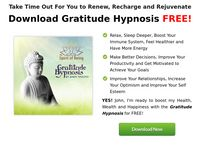 Gratitude Hypnosis GIFT