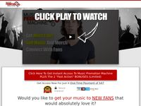 Music Promotion Machine - Join Now! - Get Instant Access