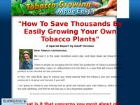 Tobacco Growing Made Easy - How to Grow your Own Tabocco and Roll Smoke at Home