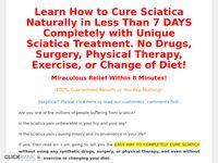Sciatica Treatment: Cure Sciatica in Just 8 Mins