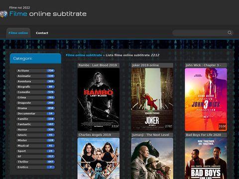 poza Filme online subtitrate 2016 - Cele mai bune filme HD online