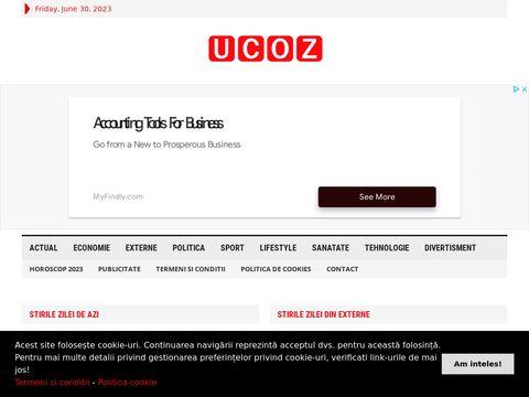 poza Evaluări site-uri - uCoz TOP100