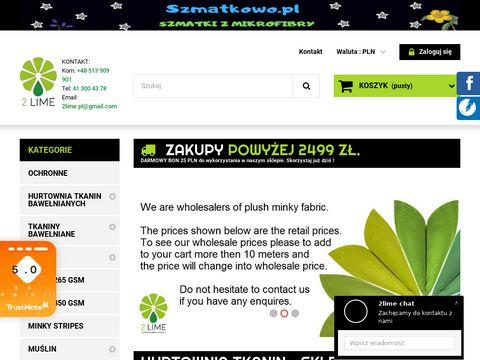 2lime.pl hurtownia bawełny