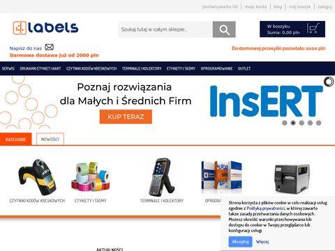 Terminale, czytniki i drukarki kod贸w kreskowych oraz etykiet - Sklep 4labels.pl