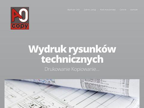 A0COPY Druk cyfrowy Katowice