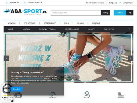 Internetowy sport sklep - aba-sport.pl