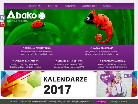 Strony www | strony internetowe | agencja reklamowa Abako