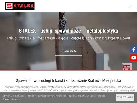 Spawalnictwo - Spawanie TIG, MIG, MAG, MMA - STALEX Kraków