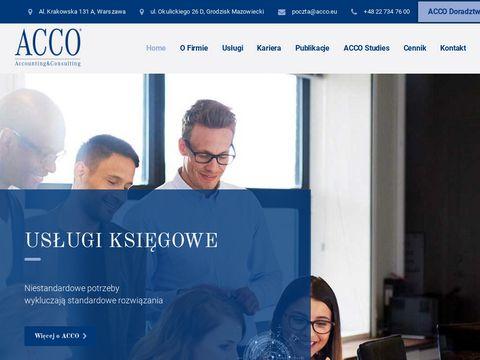Biuro rachunkowe Warszawa - ACCO