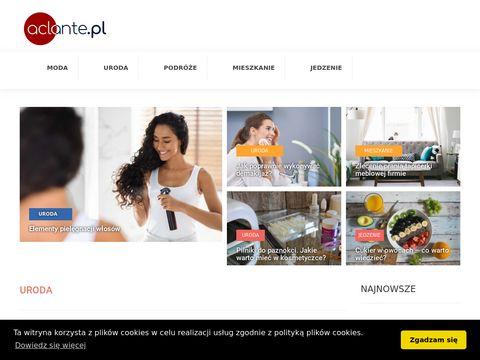 Aclante.pl sklep z odzieżą