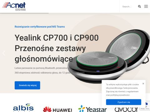 ACNET prowadzenie nadzoru rob贸t telekomunikacyjnych