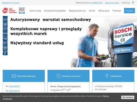 Auto Centrum Serwisowe - lider us艂ug motoryzacyjnych w 艁odzi