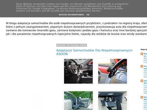 Adaptacja Samochodów dla Niepełnosprawnych