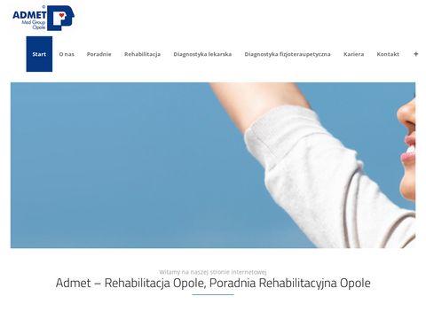 ADMET - Rehabilitacja Opole