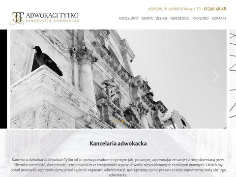 Adwokaci Tytko - adwokat rozwód kraków