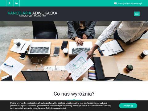 Kancelaria Adwokacka Adwokat Justyna Pastwa z siedzibÄ… w Gdyni