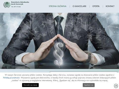 JACEK SZEWCZYK sprawy alimentacyjne Kraków